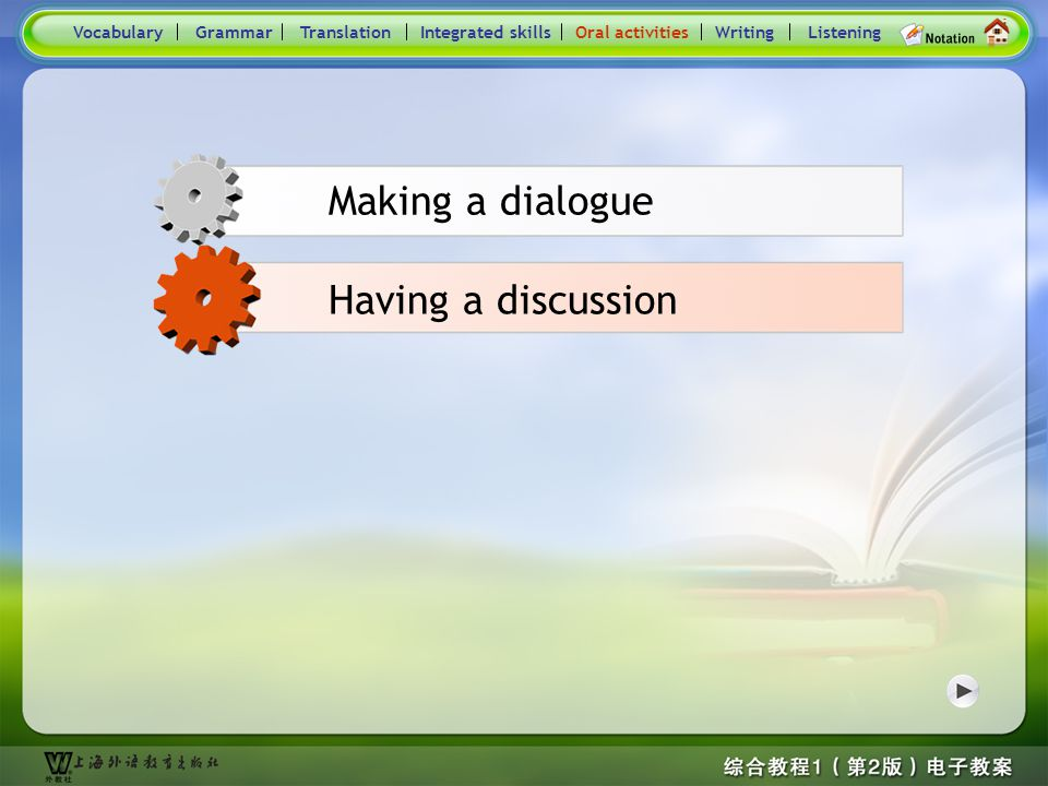 Consolidation Activities- Oral activities