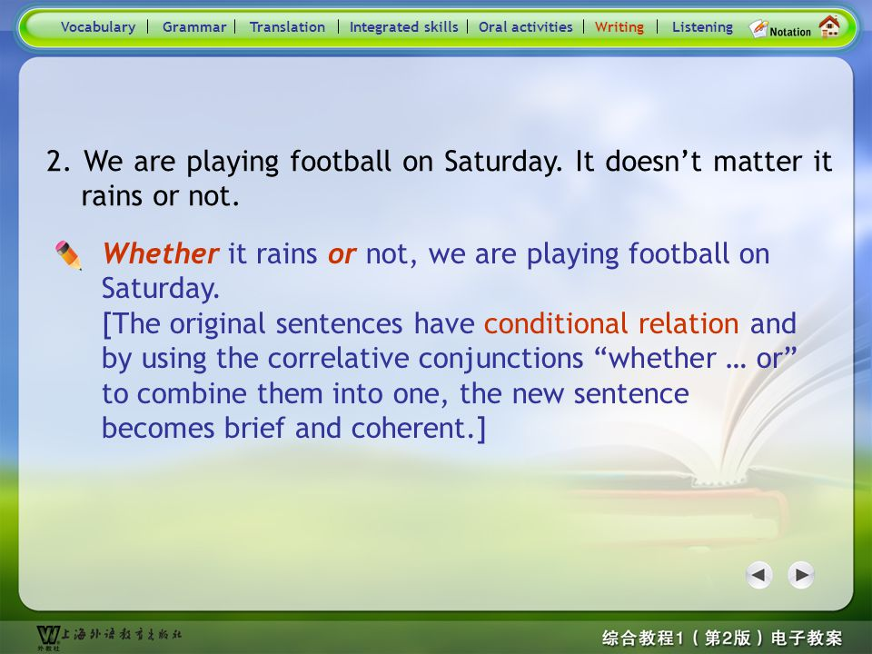 Consolidation Activities- Writing7