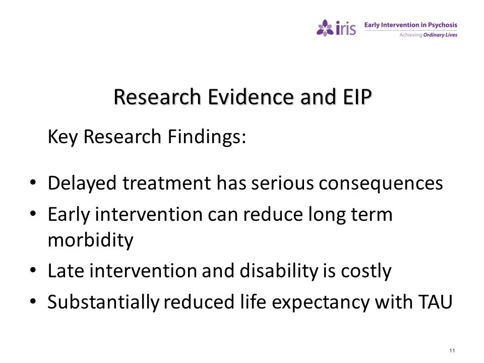 Research Evidence and EIP