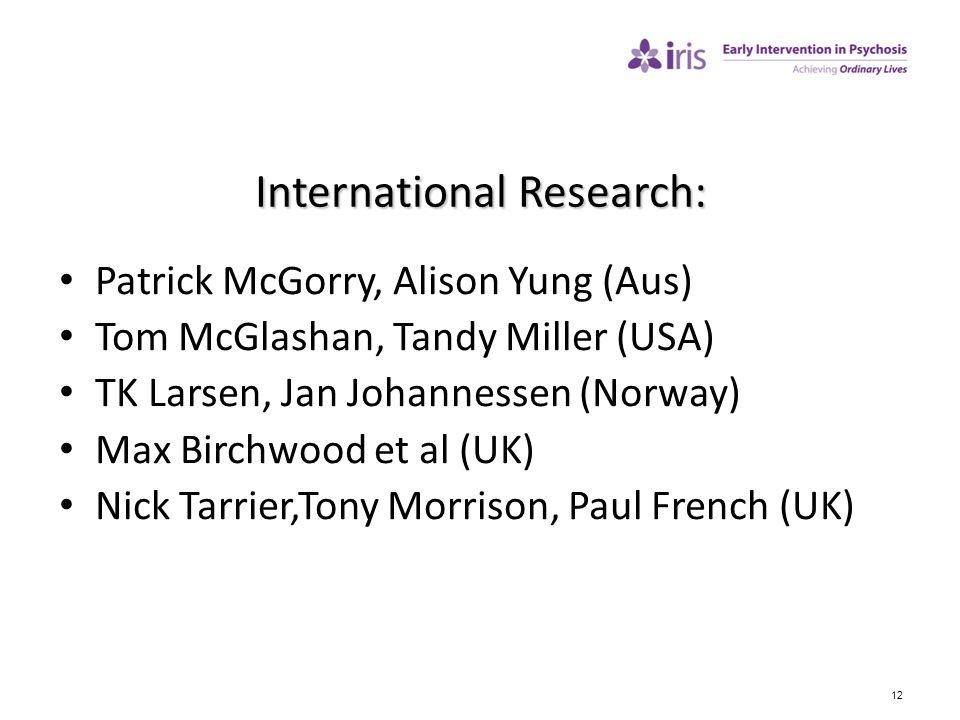 International Research: