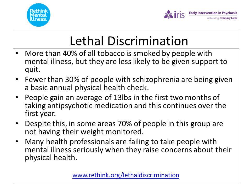 Lethal Discrimination