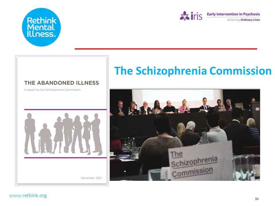 The Schizophrenia Commission