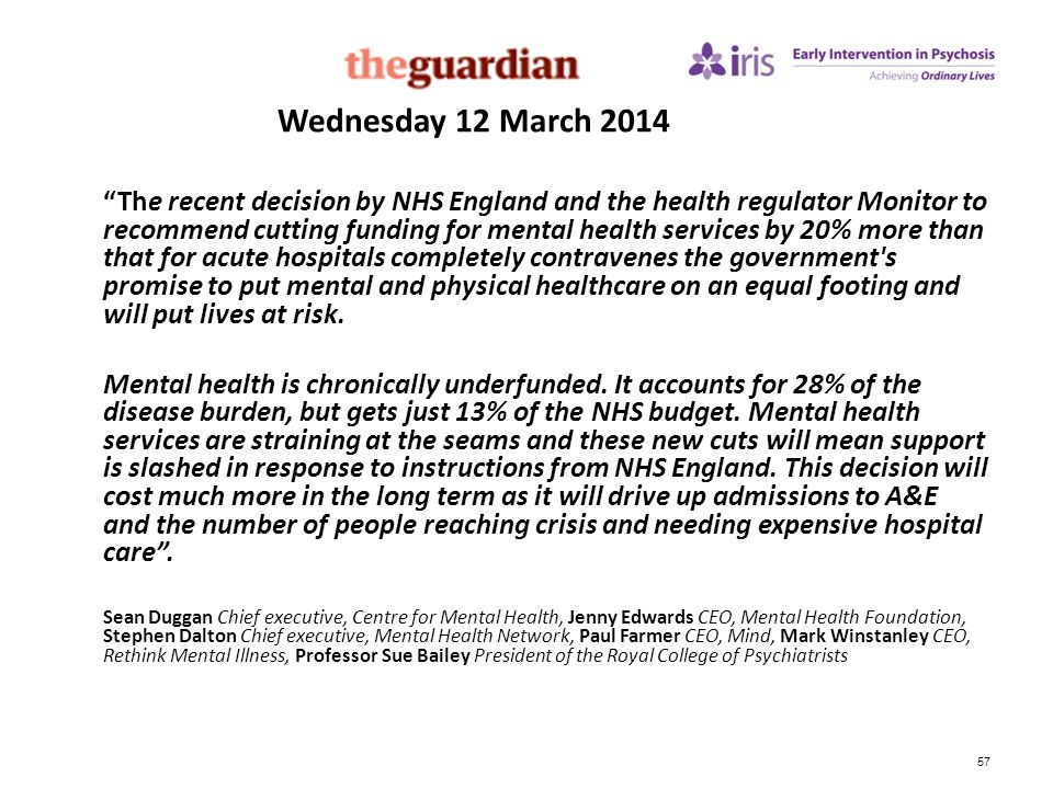 Wednesday 12 March 2014