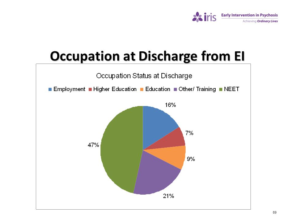 Occupation at Discharge from EI
