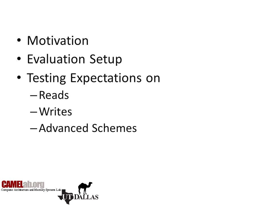 Testing Expectations on