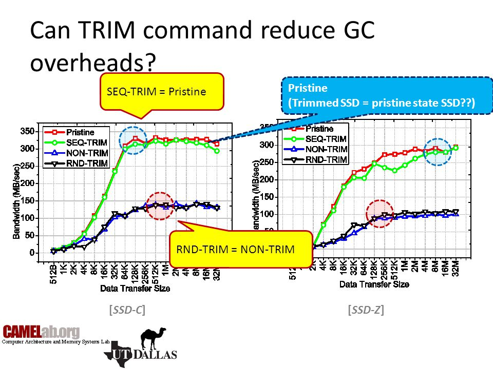 Can TRIM command reduce GC overheads