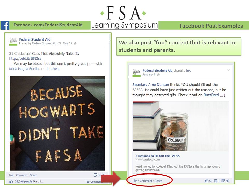 Facebook Post Examples