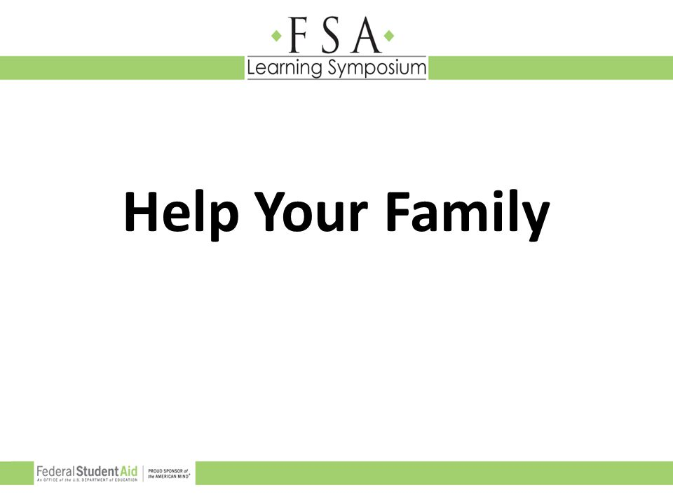 Help Your Family