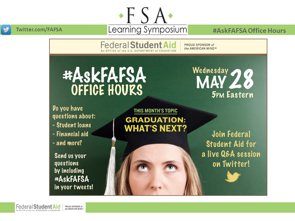 #AskFAFSA Office Hours