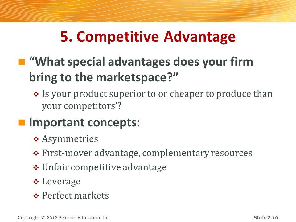 5. Competitive Advantage
