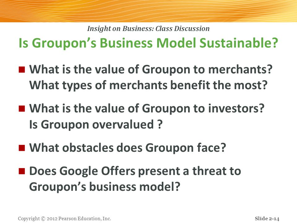 Is Groupon's Business Model Sustainable