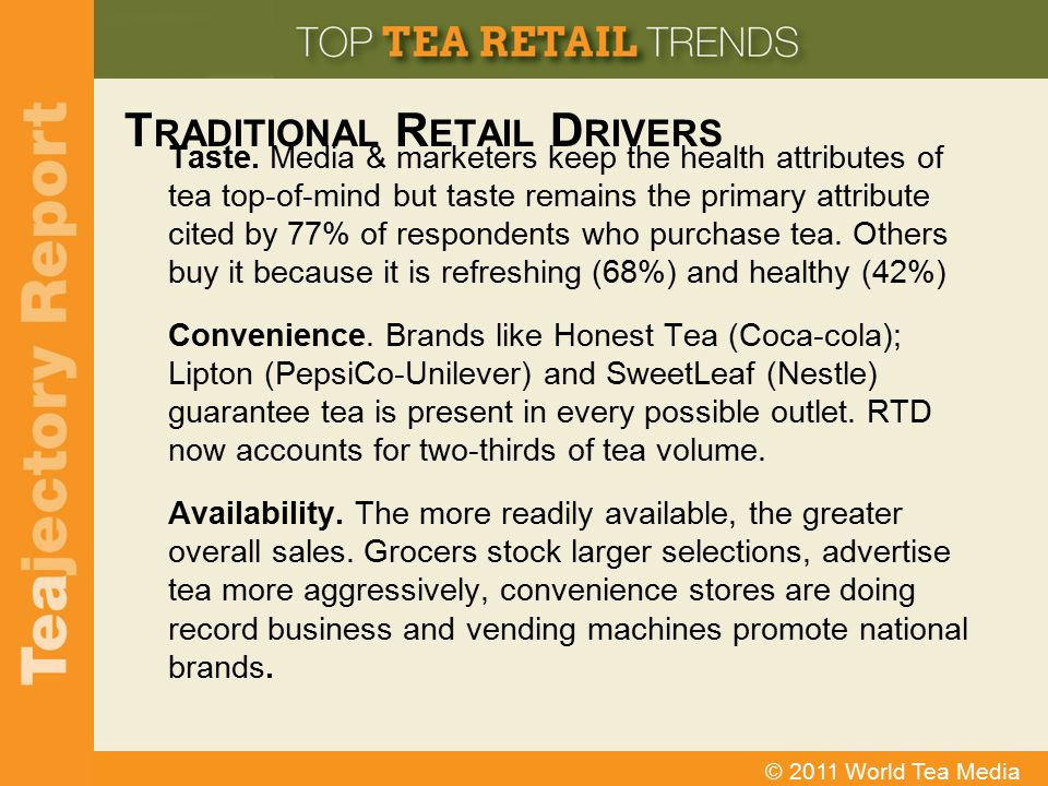 Traditional Retail Drivers