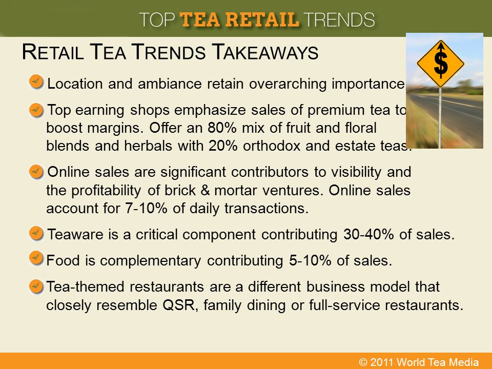 Retail Tea Trends Takeaways