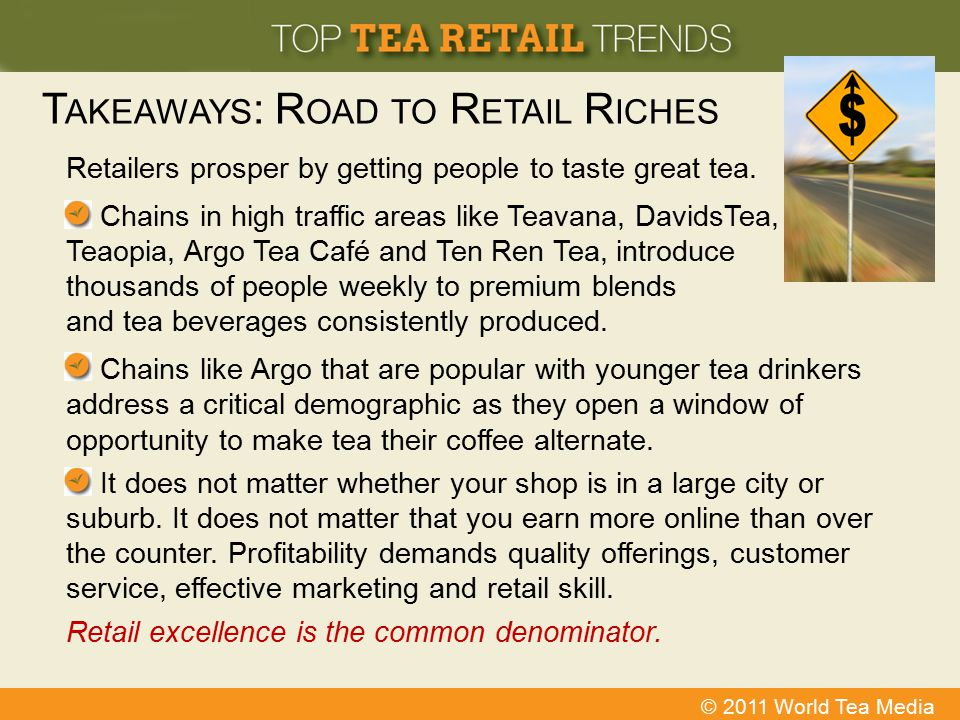 Takeaways: Road to Retail Riches