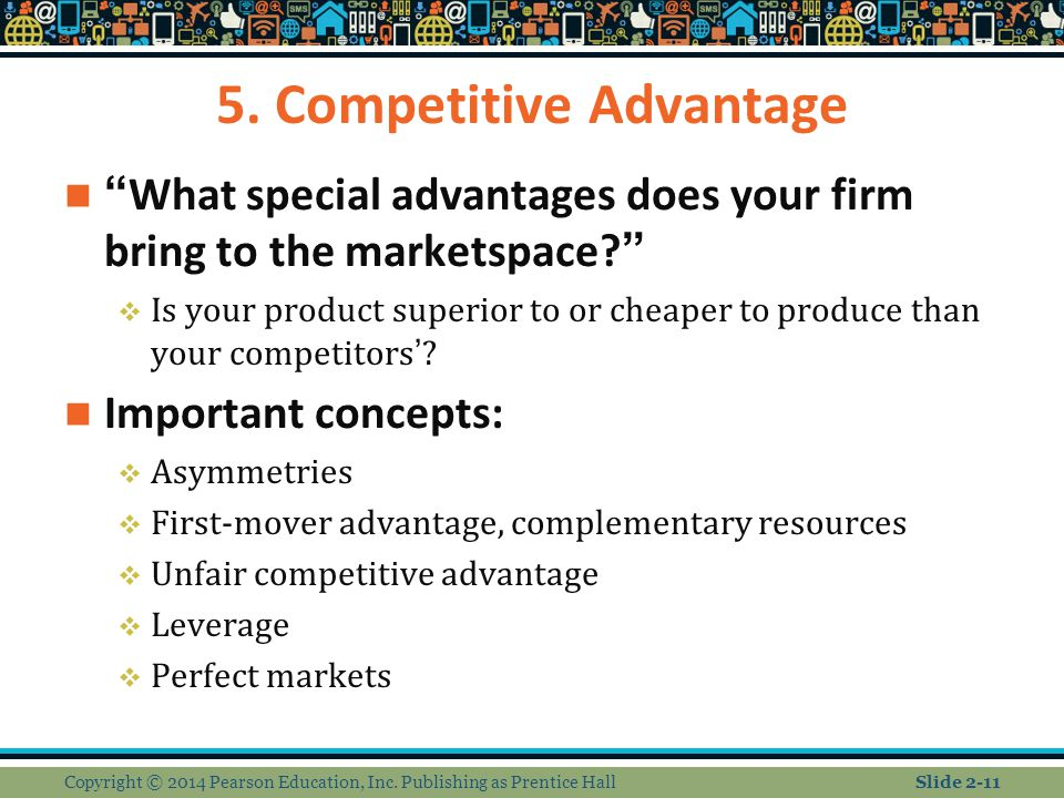 5. Competitive Advantage