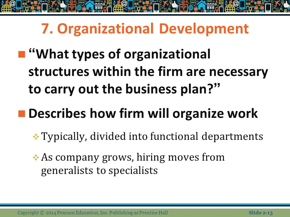 7. Organizational Development