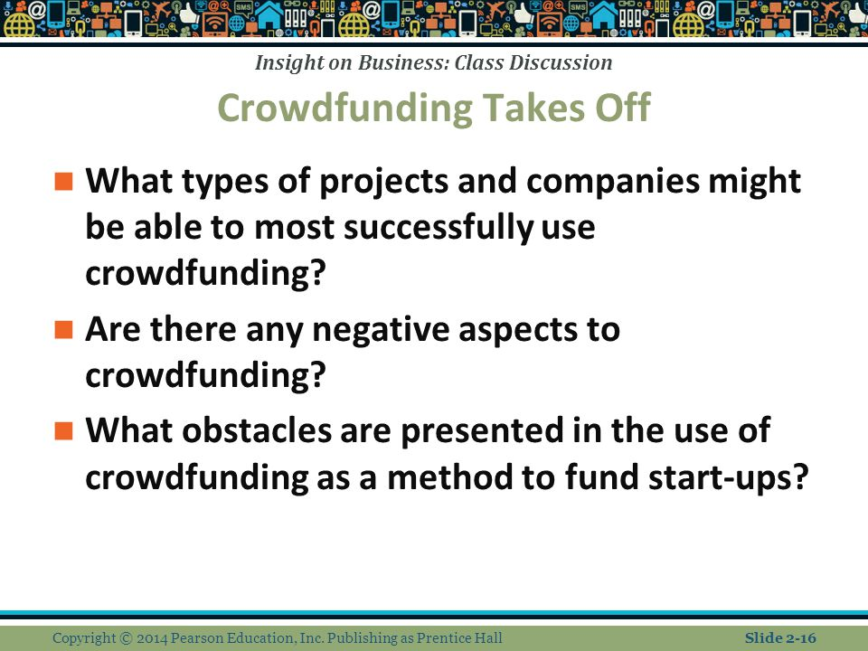 Crowdfunding Takes Off