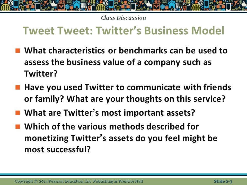 Tweet Tweet: Twitter's Business Model