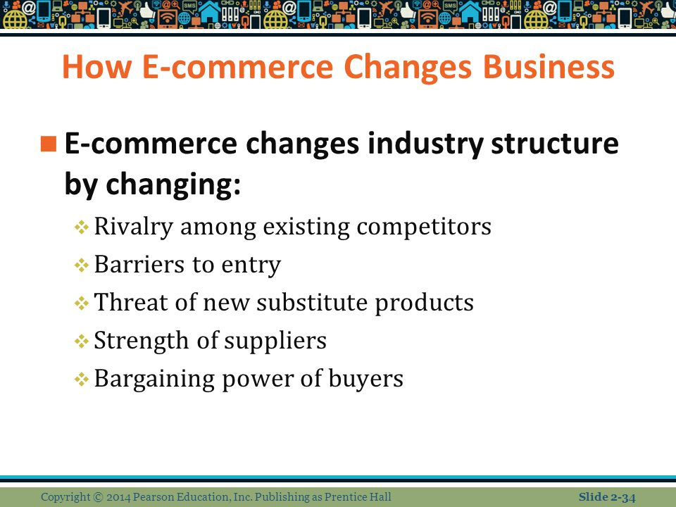 How E-commerce Changes Business