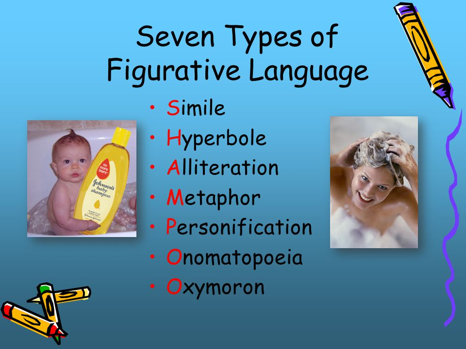 Seven Types of Figurative Language
