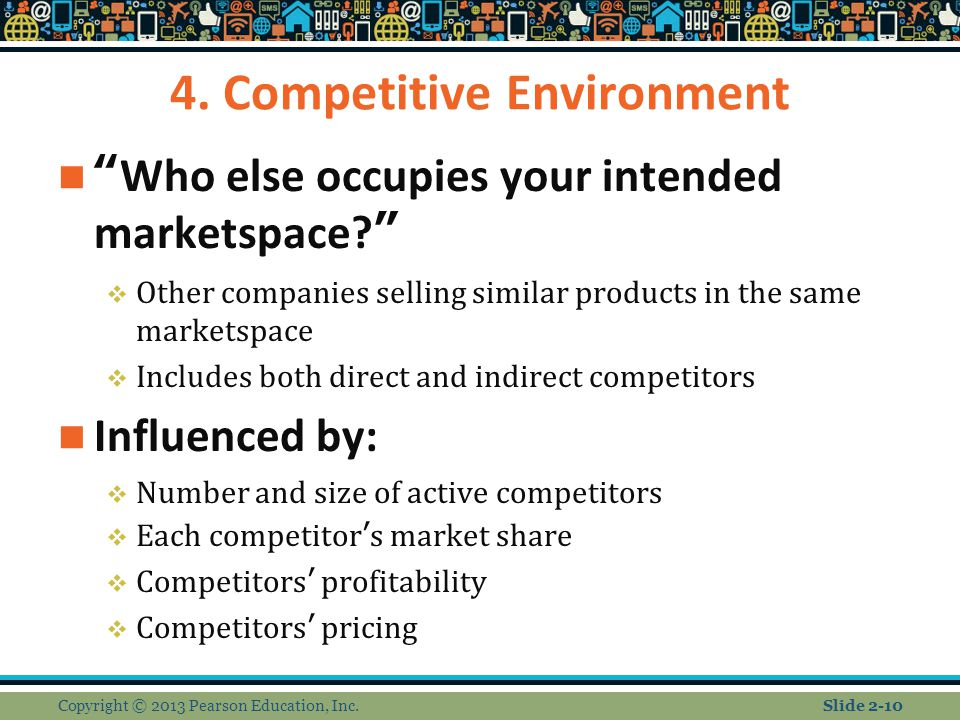4. Competitive Environment