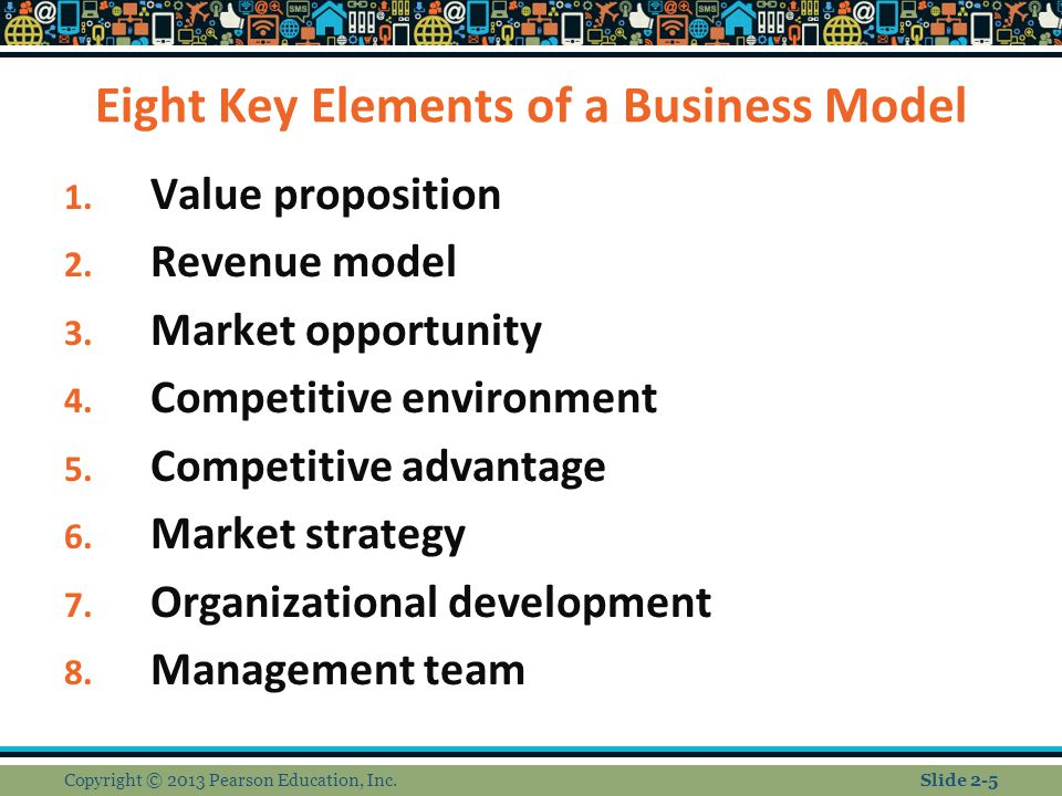 Eight Key Elements of a Business Model