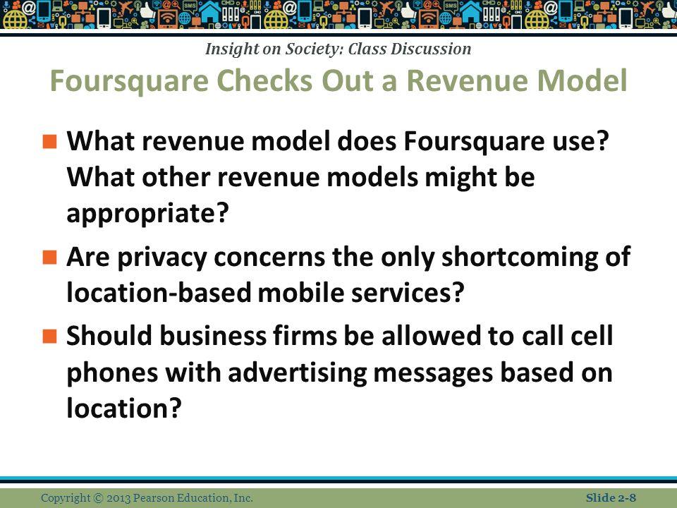 Foursquare Checks Out a Revenue Model