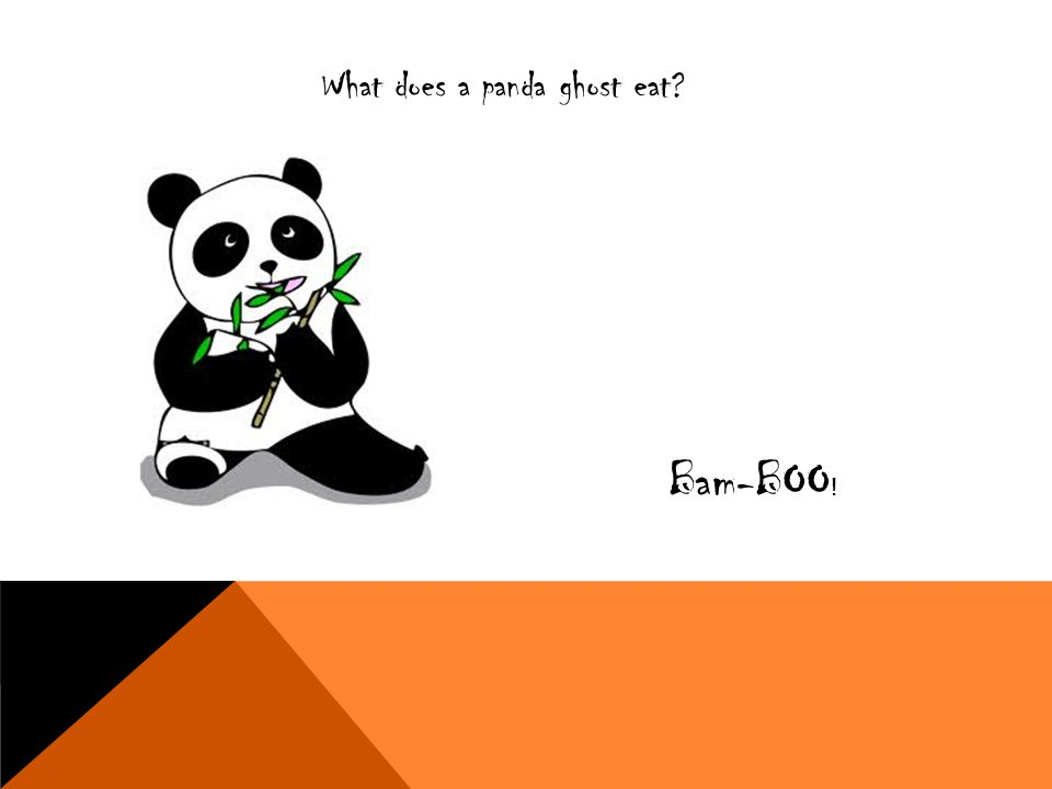What does a panda ghost eat