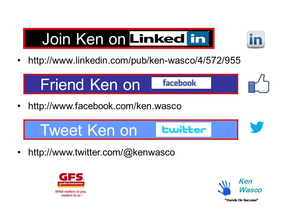 Join Ken on Linkedin Friend Ken on Tweet Ken on