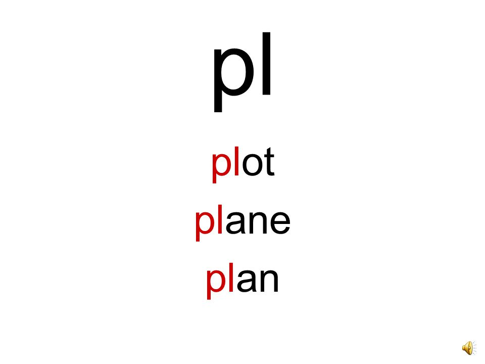 pl plot plane plan