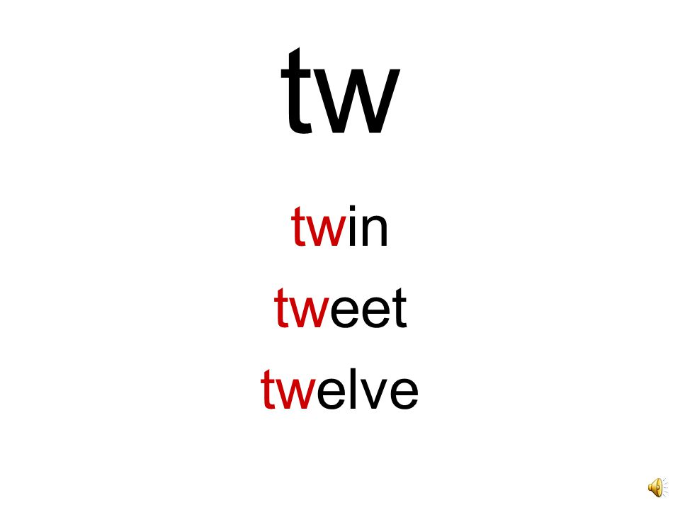 tw twin tweet twelve