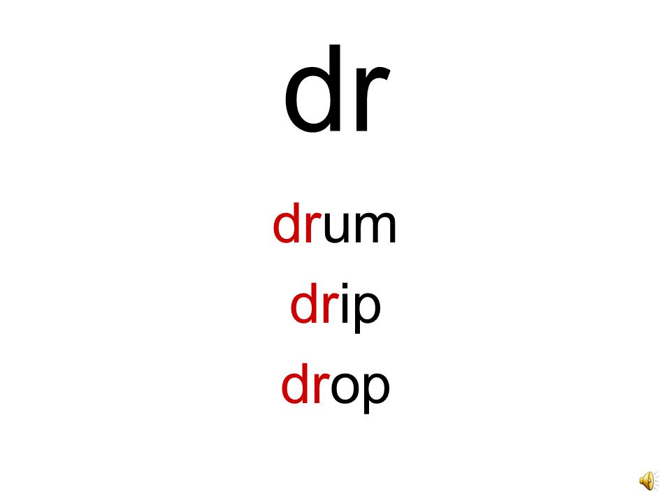 dr drum drip drop
