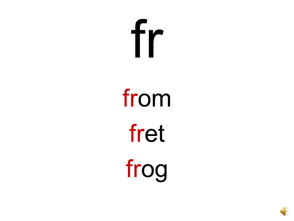 fr from fret frog