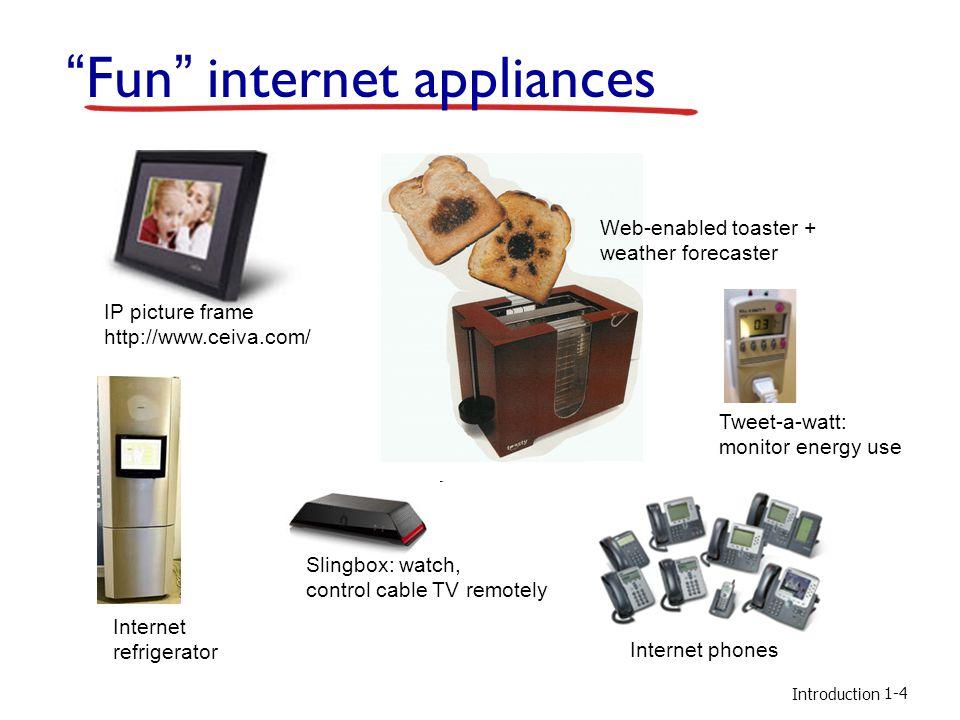 Fun internet appliances