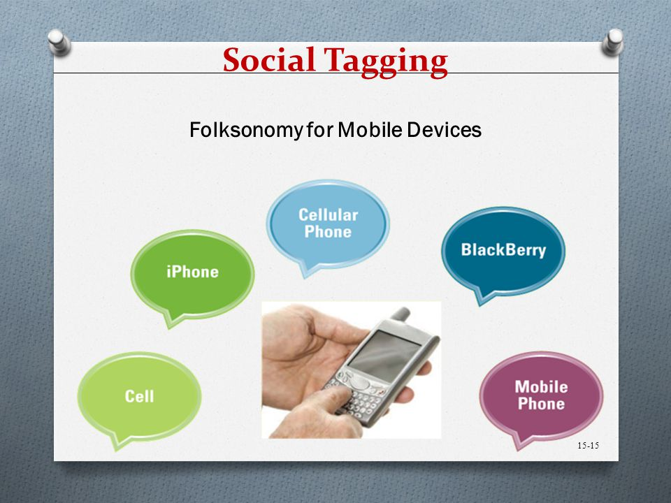 Folksonomy for Mobile Devices