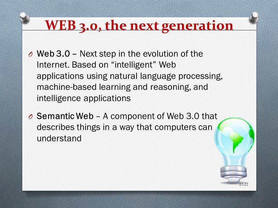WEB 3.0, the next generation