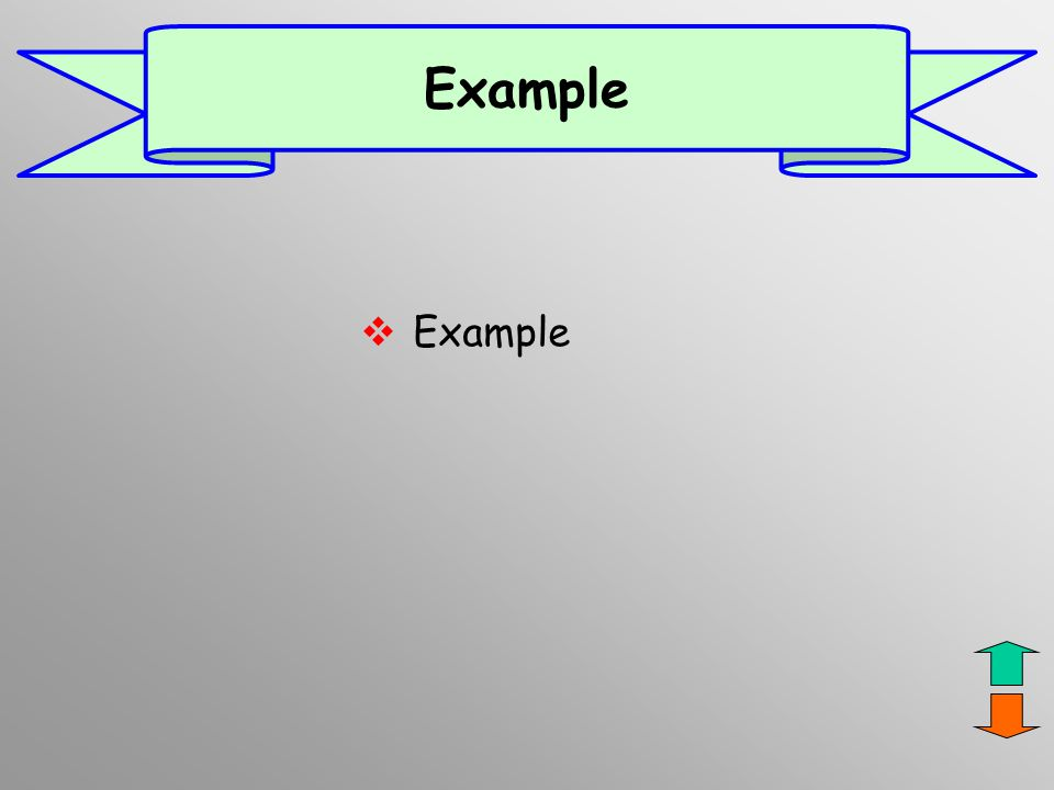 Example Example