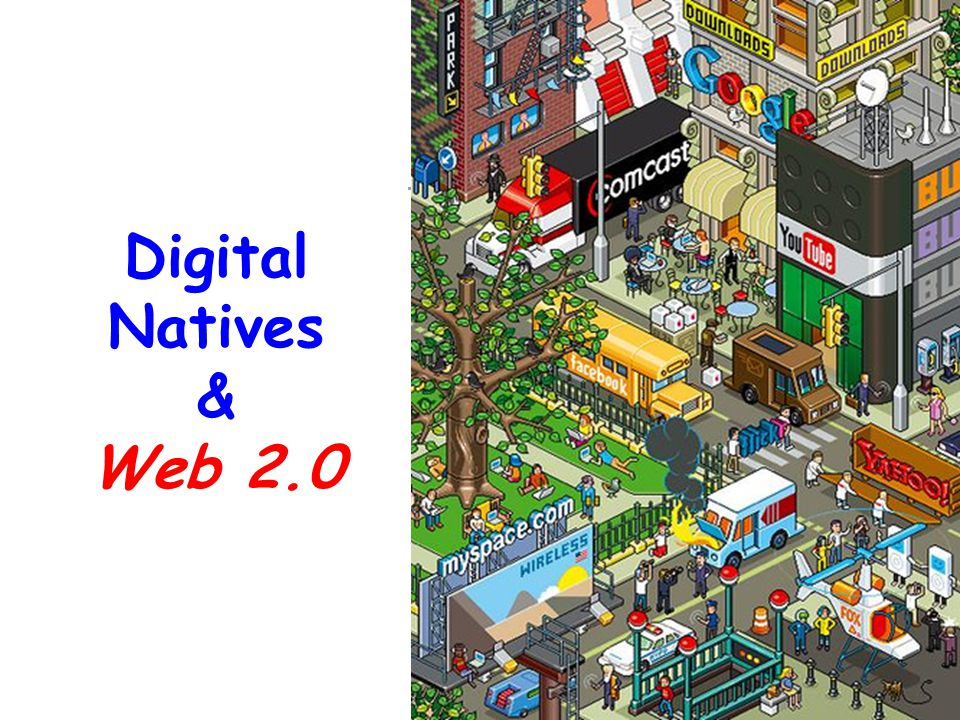 Digital Natives & Web 2.0