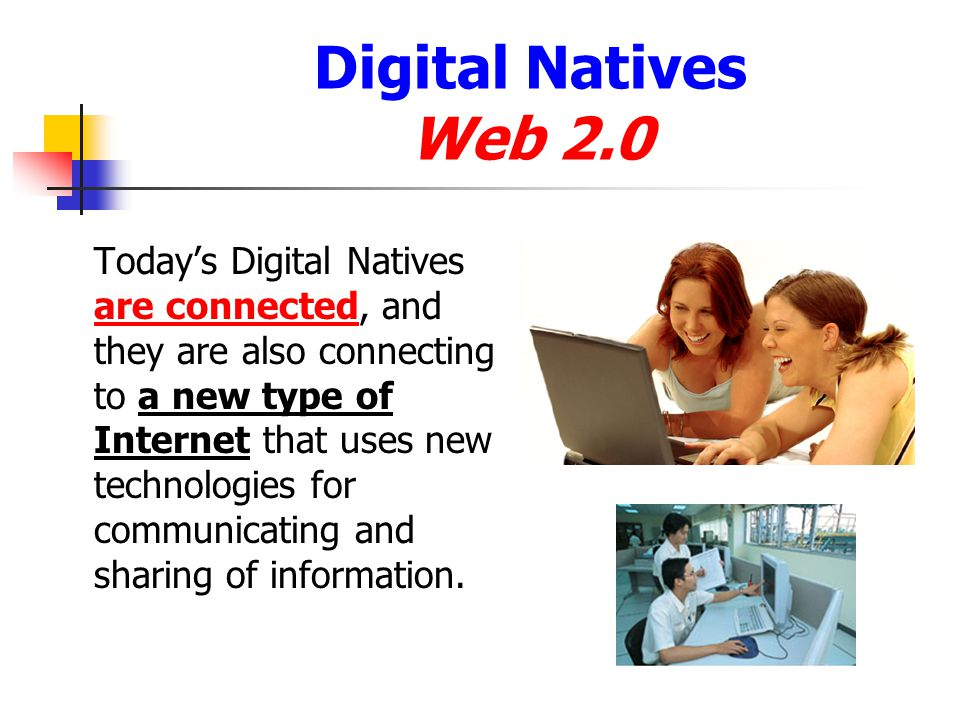 Digital Natives Web 2.0