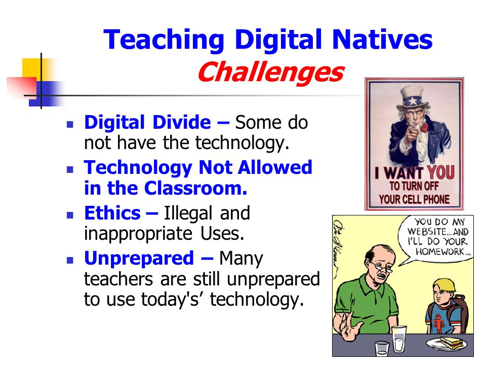 Teaching Digital Natives Challenges