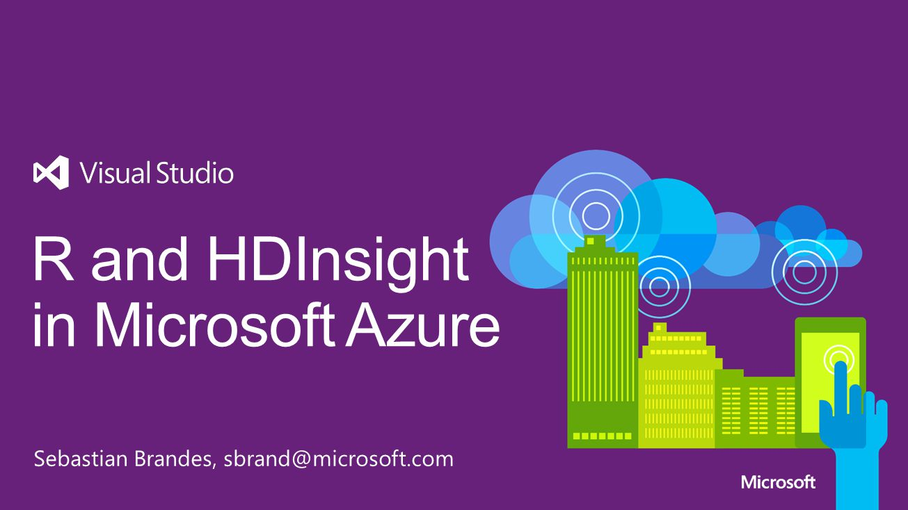 R and HDInsight in Microsoft Azure