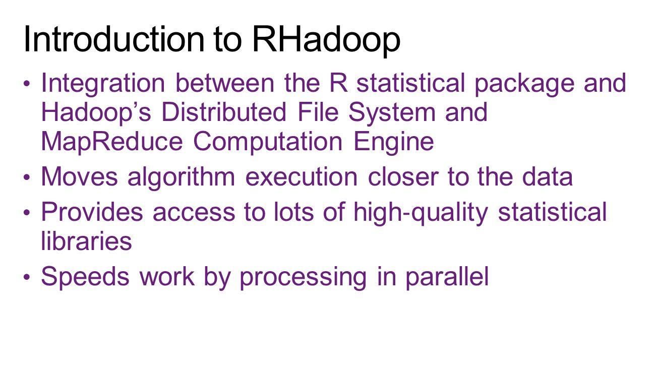Introduction to RHadoop
