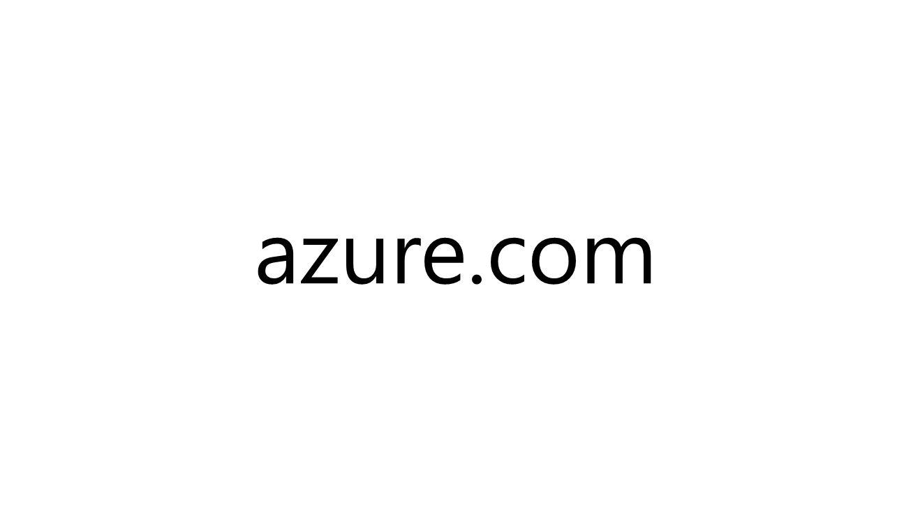 azure.com