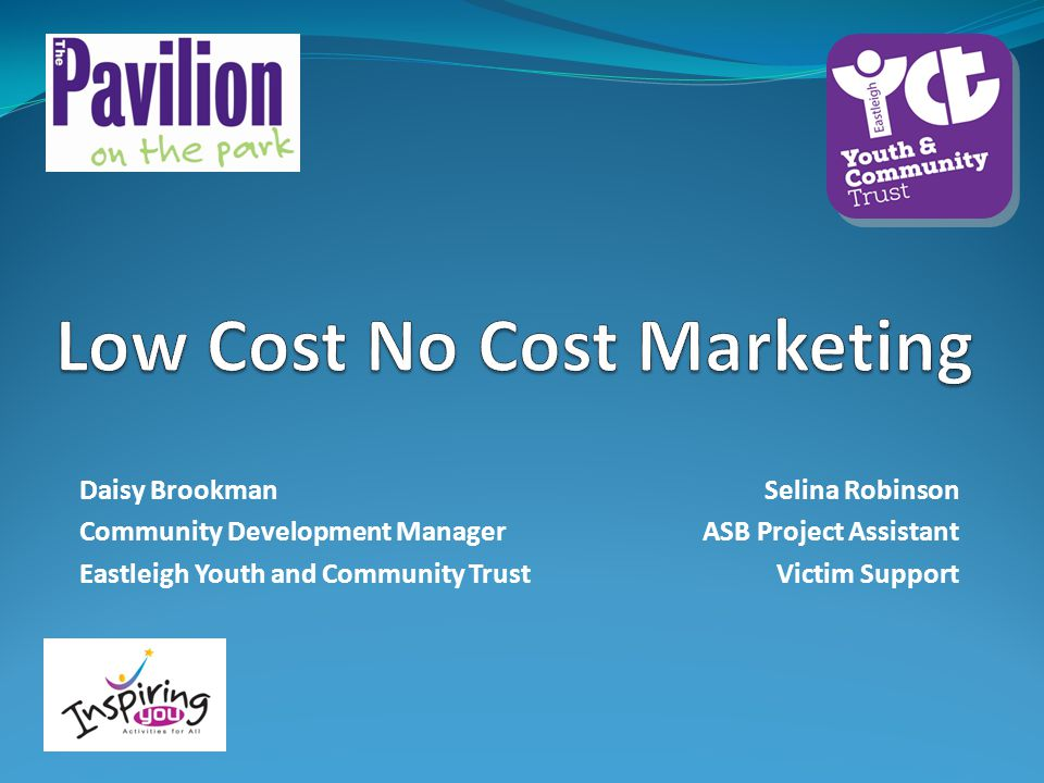 Low Cost No Cost Marketing