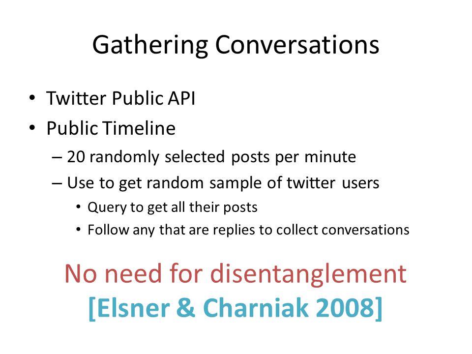 Gathering Conversations