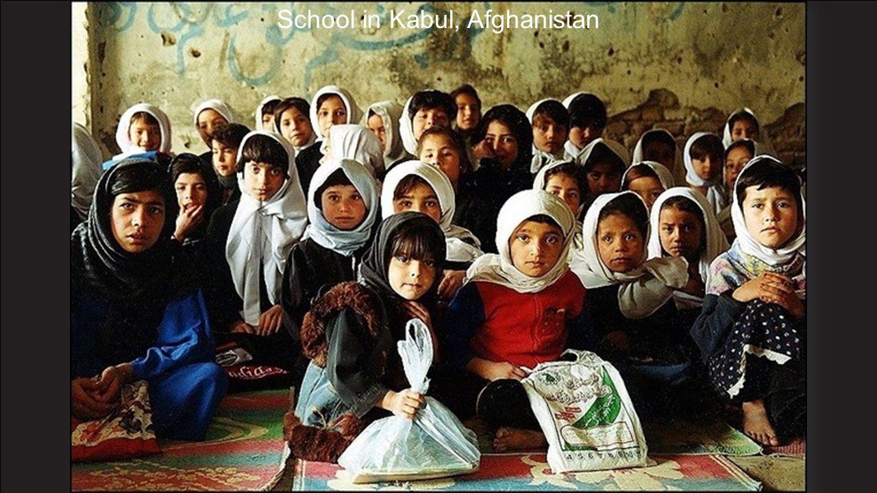 School in Kabul, Afghanistan