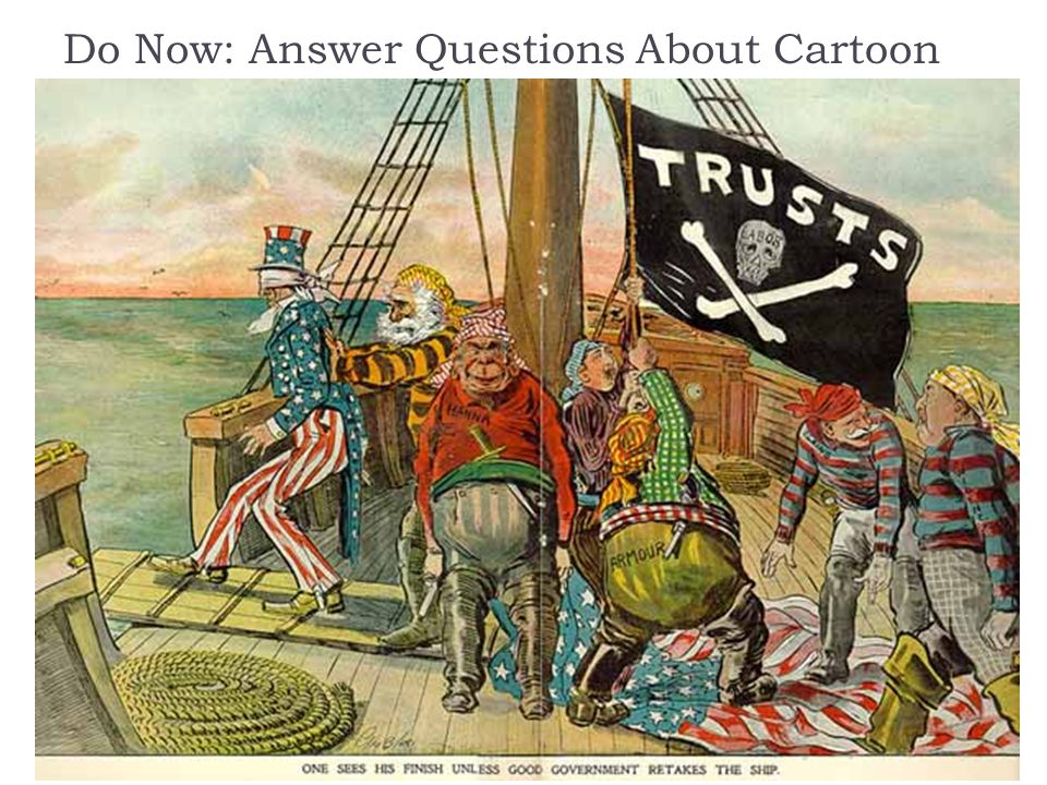 Do Now: Answer Questions About Cartoon