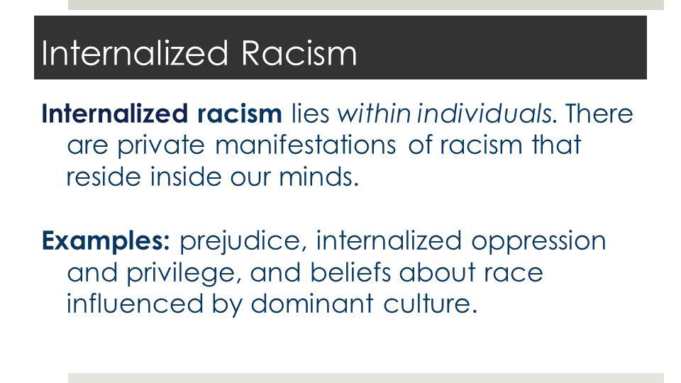 Interpersonal Racism