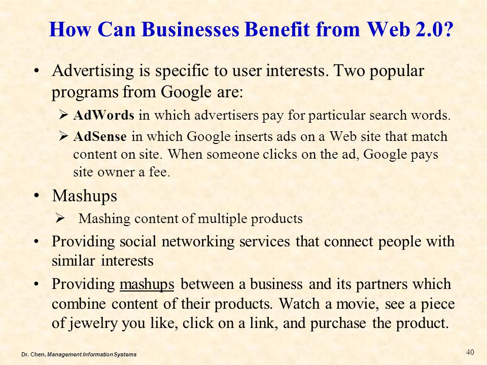 How Can Businesses Benefit from Web 2.0