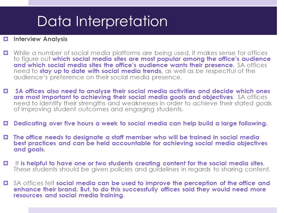 Data Interpretation Interview Analysis